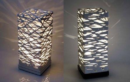 Принцип создания светильника тот же