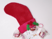 Рождественский сапожoк для подарков