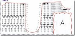 40% полиамида.  90 м/50 г) крючок 6 Вязание кардигана.  Квадрат А: вязать.