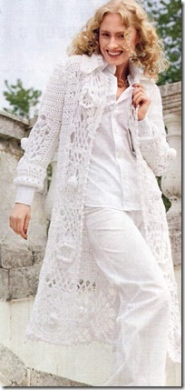 Ladies` Crochet Cardigan (Вязание крючком Женский кардиган.