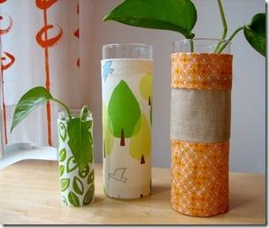 Orange-vase