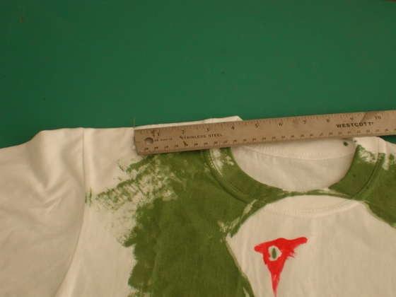 Переделка футболки из мужской в женскую