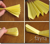 how to tissue flower 2