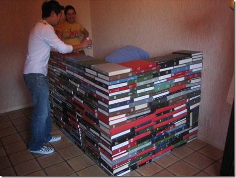 Как из книг сделать барную стойку