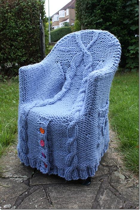 Вязанные кресла