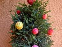 Новогодние шерстяные шары