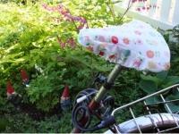 Как сшить чехол на сиденье велосипеда