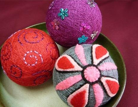Как сделать небьющиеся новогодние шарики