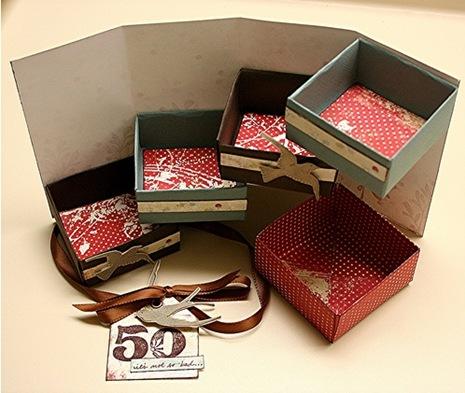 Как сделать подарочную коробочку для