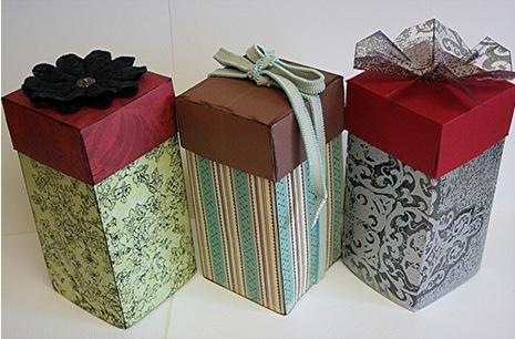Как сделать подарочную коробочку для украшений