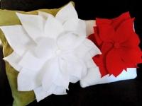Как сшить подушку-цветок