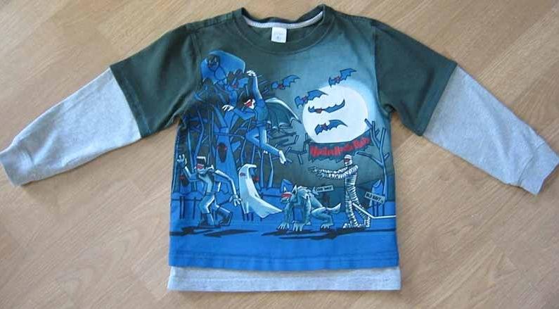 Из старых футболок для детей