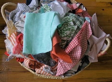 Сшить из остатков ткани своими руками