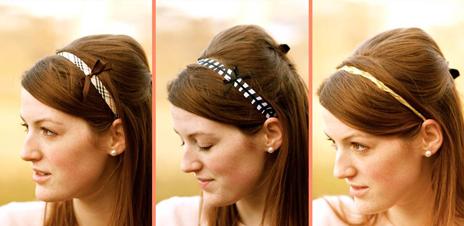 Заколки, бантики, ободки, резинки для волос своими руками 26