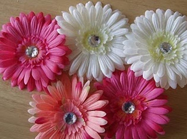 Резинка с цветами своими руками
