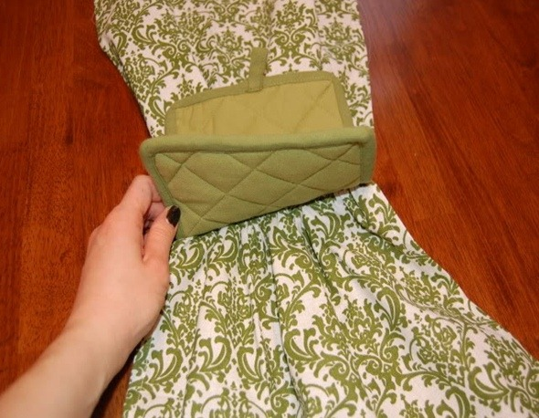 Пошив полотенца своими руками