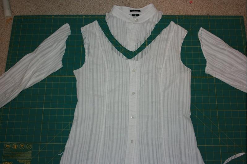 Блузка Из Цельного Лоскута Шью Сама