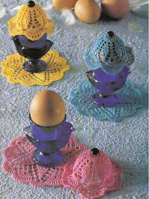 накидка на яйцо и салфетка