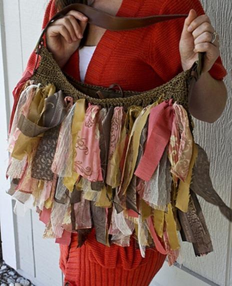 как декорировать сумку - Сумки.