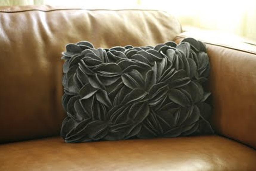 Как сшить декоративные подушки видео