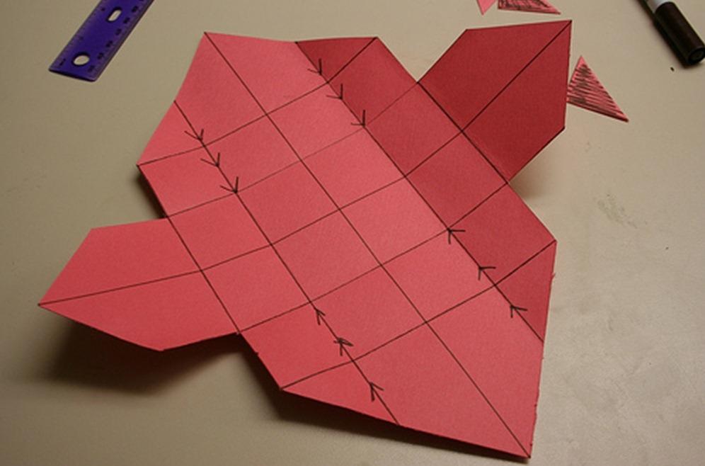 Как сделать коробочку с секретом из бумаги