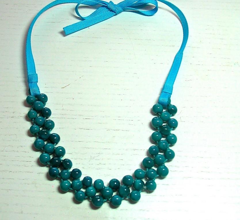 Ожерелье сделать своими руками