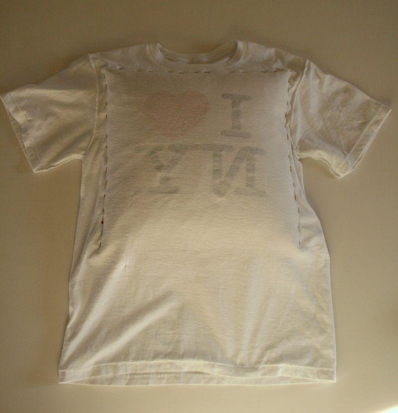 Как сделать подушку из своей футболки