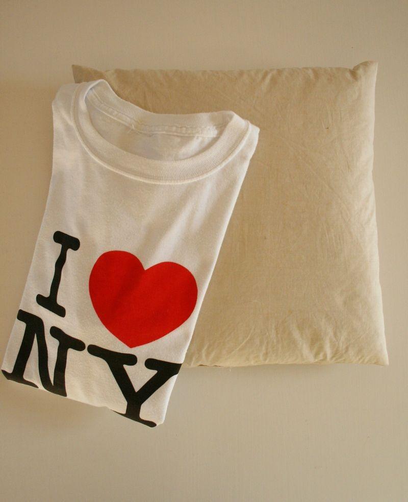 Подушки из футболок