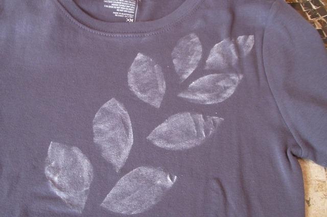Декор простой футболки