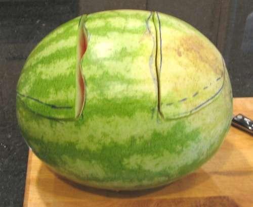 Как сделать арбузную корзинку для фруктов / KNITLY.com - блог о рукоделии, мастерклассы