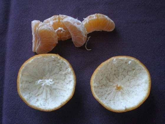 Как сделать апельсиновую лампу
