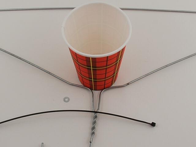 Как сделать флюгер из стаканчика