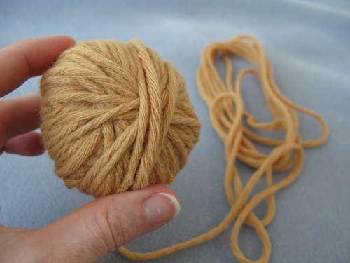 Как сделать шерстяные нитки своими руками 1