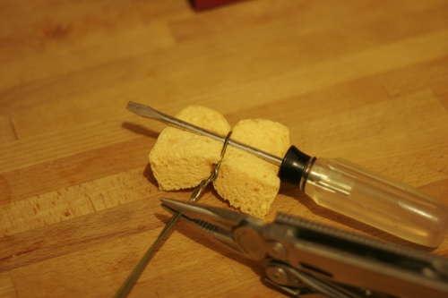 Как сделать ершик для бутылок