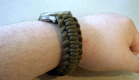 braided bracelet for watches