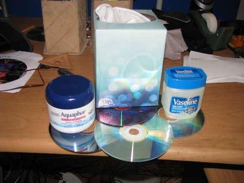 Как избавиться от царапин на CD/DVD диске