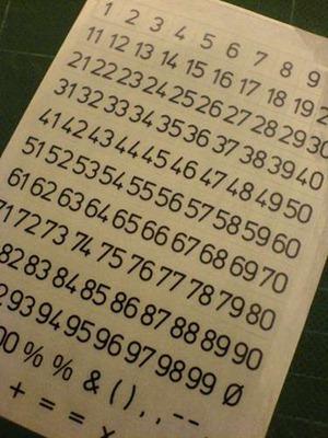 Как сделать календарь из старой клавиатуры