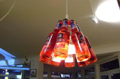Как сделать бутылочную лампу