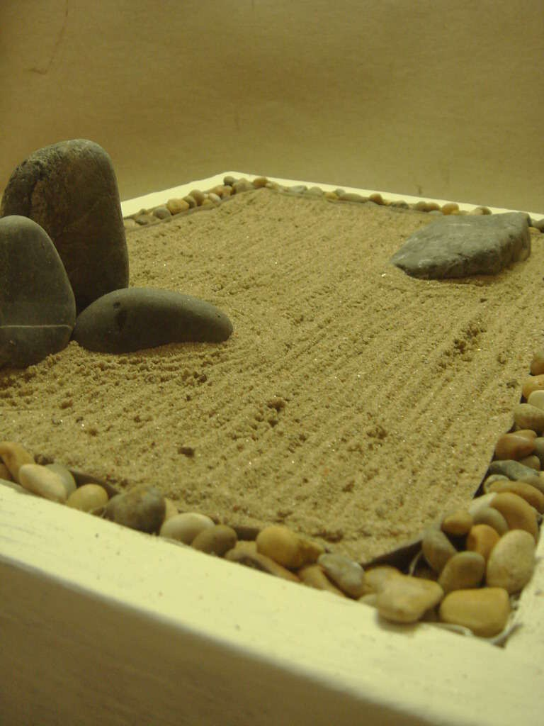 Как сделать мини-садик в стиле дзен
