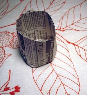 Как сделать временную ячейку для рассады из газеты