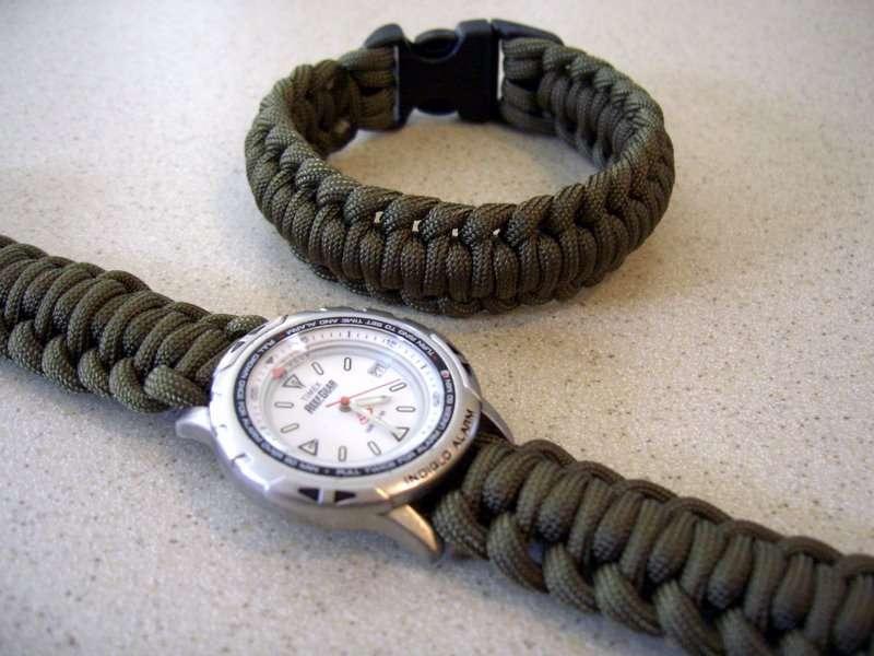 Как сделать плетеный браслет для часов knitly com - блог о. Швейцарские часы rado большой выбор часов.
