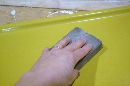 Как декорировать старый поднос