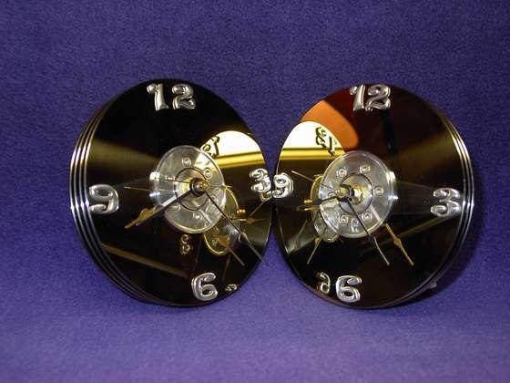 Часы из жестких дисков