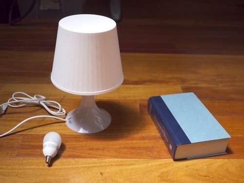 Как сделать книжную лампу