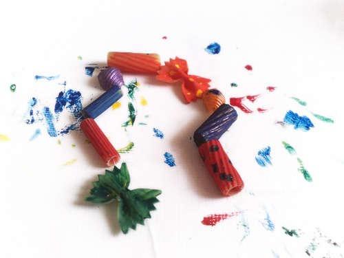 Как сделать браслет из макарон