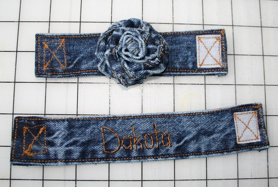sew a denim strap tutorial