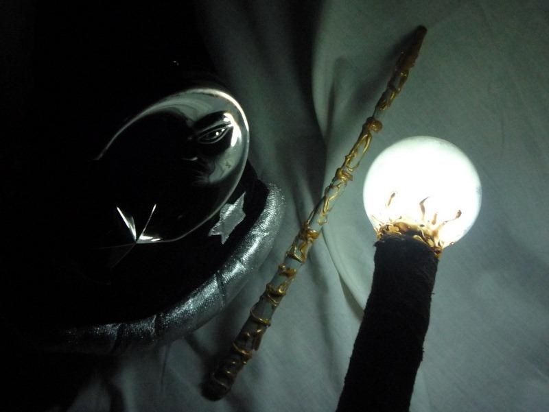 Готовимся к Хэлоуину - Как сделать магический посох
