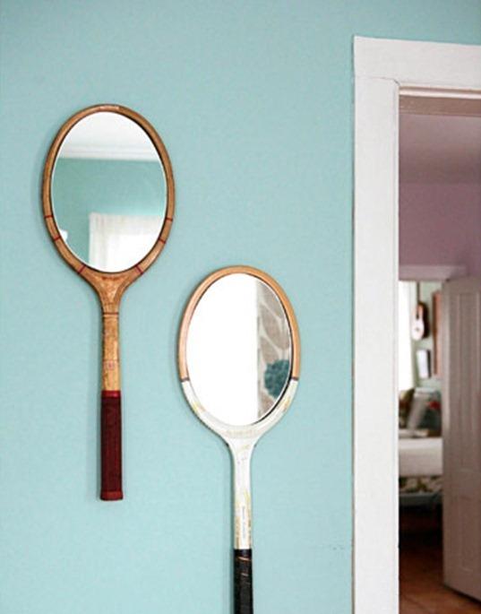 Как преобразить зеркало подручными средствами