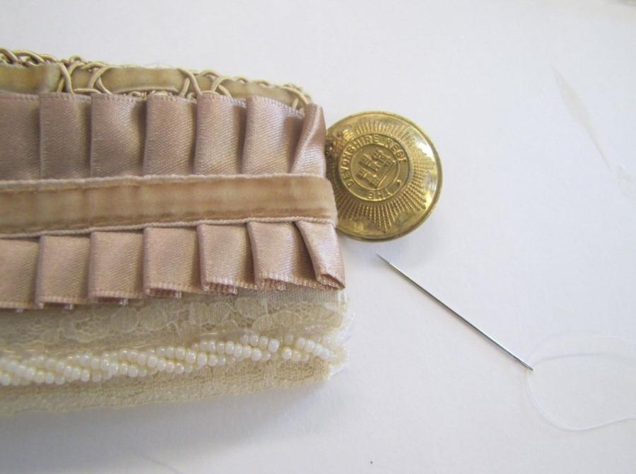 Как сделать викторианский браслет