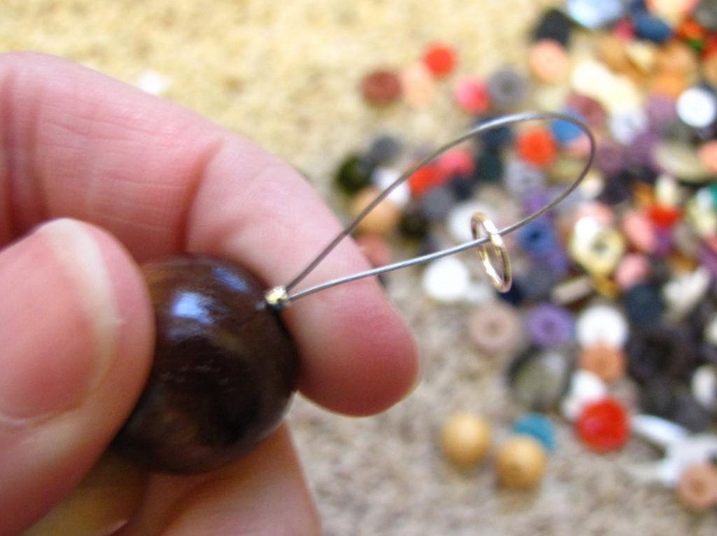 Фото как сделать цепочку из проволоки своими